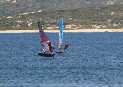Wind Foil Bonifacio, école de windsurf