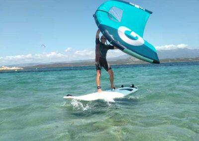 école de windsurf wingfoil, Bonifacio
