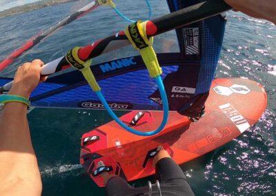 spot de Wind Foil, windsurf Bonifacio, école de windsurf